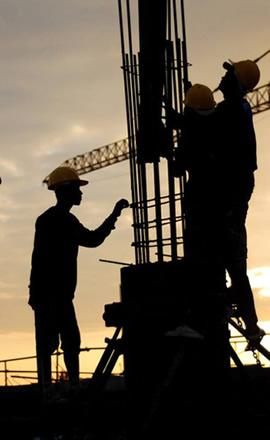 建筑、工程、安装行业